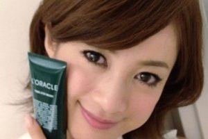 オラクル化粧品 芸能人